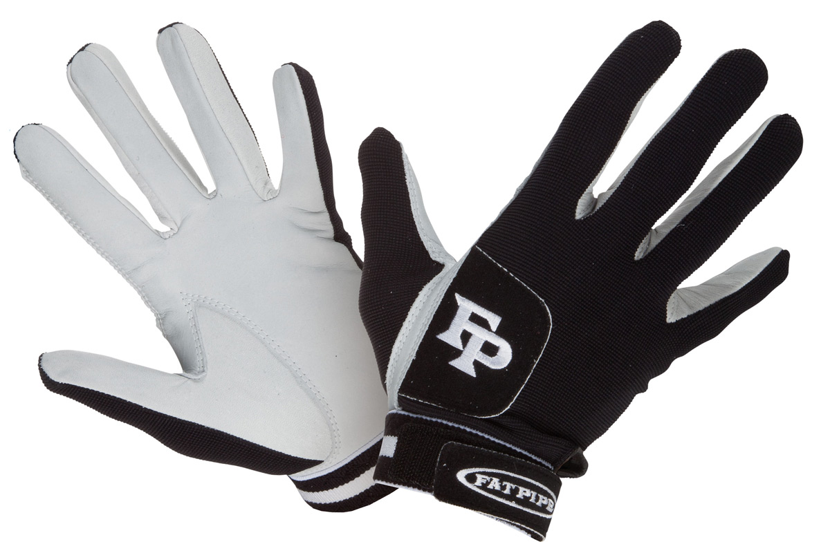 Fat Pipe GK Gloves Leather Palm Black